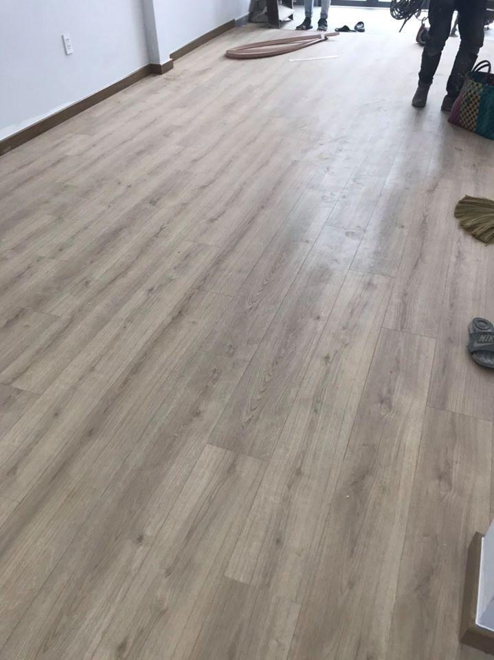 Hình ảnh hoàn thiện công trình sàn gỗ kaindl tại hcm