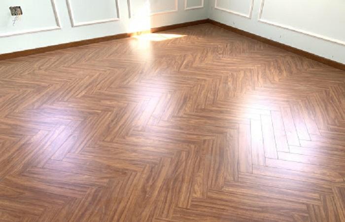 Sàn gỗ Kaindl xương cá