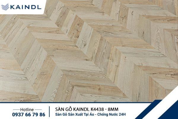 Sàn gỗ Xương Cá KAINDL K4438 8mm