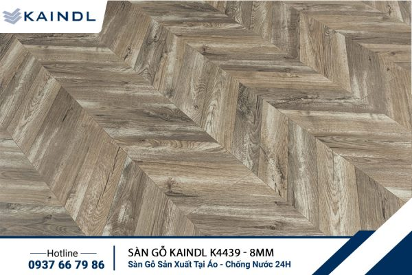 Sàn gỗ Xương Cá KAINDL K4439 8mm